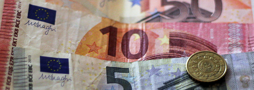 Billetes y monedas de euro